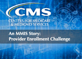 Gregory Downing talking about the CMS Provider Challenge